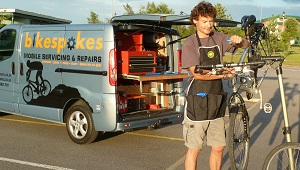 bikespokes mobile cycle repair service moray