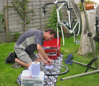 bikespokes mobile cycle repair service moray